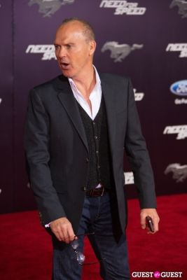 michael keaton in U.S. Premiere Of Dreamworks Pictures