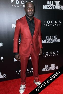 michael kenneth-williams in Kill The Messenger Movie Premiere