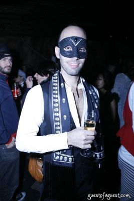michael kleinmann in Lydia Hearst's Masquerade Party
