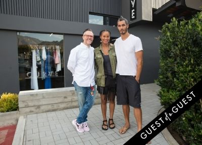 david pope in Joy Bryant Launches Basic Terrain at CURVE