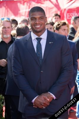 michael sam in The 2014 ESPYS at the Nokia Theatre L.A. LIVE - Red Carpet