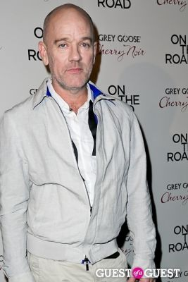 michael stipe in NY Premiere of ON THE ROAD