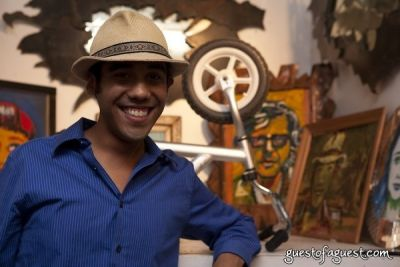 michael waters in Antony Zito Exhibit Opening at GalleryBar