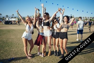 grace caspar in Coachella Festival 2015 Weekend 2 Day 1