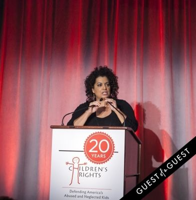 michaela pereira in Children's Rights Tenth Annual Benefit Honors Board Chair Alan C. Myers
