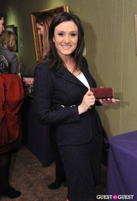 michelle caruso-cabrera in Judith Leiber 100 for 100 event at Christie's