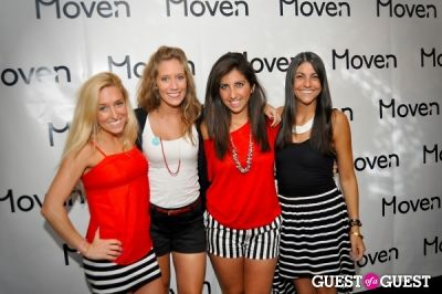 michelle goodliff in Moven App Launch Party