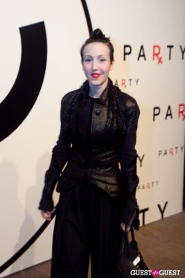 michelle harper in Chanel x RxArt Cocktail Party
