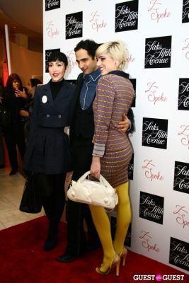 rosson crow in Saks Fifth Avenue Z Spoke by Zac Posen Launch