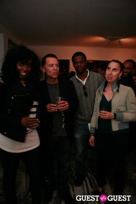 michelle judge in Brian Sensebe + Federico Saenz-Recio opening reception