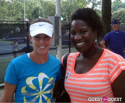 michelle larcher-de-brito in 2012 Citi Open: Day One / USTA Member Appreciation Day