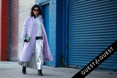 michelle lee in NYFW Street Style Day 5