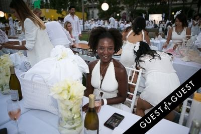 michelle robinson in Le Diner En Blanc Los Angeles 2015
