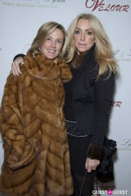michelle russel-and-anna-rothschild in Anna Rothschild's Holiday Party @ Velour