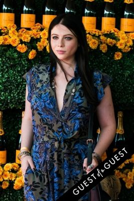 michelle trachtenberg in The Sixth Annual Veuve Clicquot Polo Classic Red Carpet