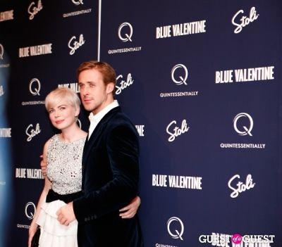 michelle williams in Blue Valentine Premiere