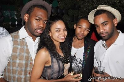 michael saddler in BLEU Magazine's 3rd Year Anniversary Bash
