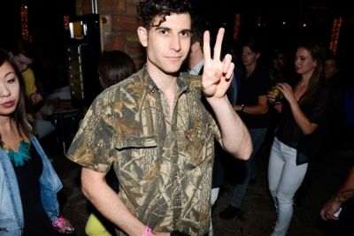 mickey church in NYLON May Young Hollywood Issue Party 2013