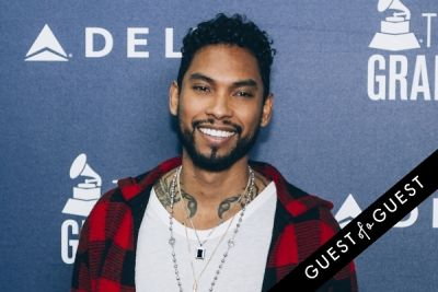 miguel in Delta Air Lines Kicks Off GRAMMY Weekend With Private Performance By Charli XCX & DJ Set By Questlove