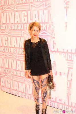mika nakashima in MAC Viva Glam Launch with Nicki Minaj and Ricky Martin