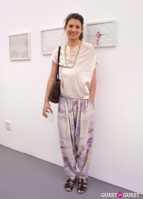 mikaela bradburry in Third Order exhibition opening event at Charles Bank Gallery