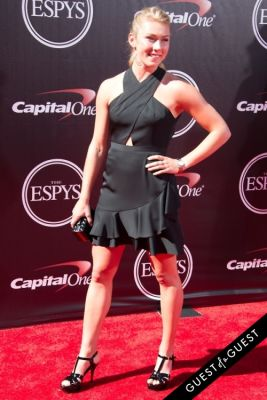 mikaela shiffrim in The 2014 ESPYS at the Nokia Theatre L.A. LIVE - Red Carpet