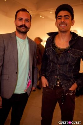 ramzi chahine in Martin Schoeller Identical: Portraits of Twins Opening Reception at Ace Gallery Beverly Hills