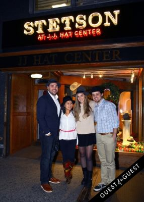 mike zappetti in Stetson and JJ Hat Center Celebrate Old New York with Just Another, One Dapper Street, and The Metro Man