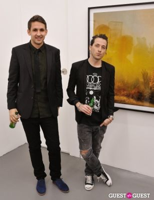 mikkel fischer in Bowry Lane group exhibition opening at Charles Bank Gallery