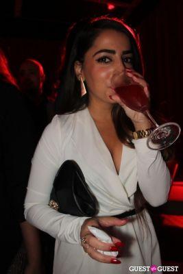 milana ayvazova in Mr. C's Holiday Cocktail Party