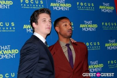 michael b.-jordan in That Awkward Moment Premiere