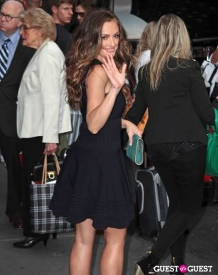 minka kelly in Salvatore Ferragamo Presents Women's Resort 2012 Collection