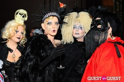 minoo mirsaidi-and-kenny-kenny in Patricia Field Aristo Halloween Party!