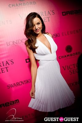 miranda kerr in Victoria's Secret 2011 Fashion Show After Party