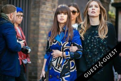 miroslava duma in London Fashion Week Pt 3