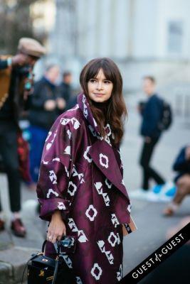 miroslava duma in Paris Fashion Week Pt 1