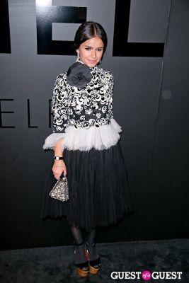 miroslava duma in Chanel Fine Jewelry Presents