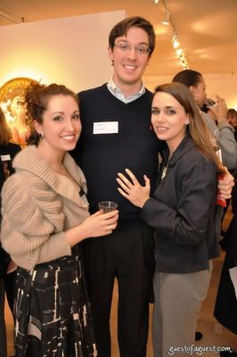larry wise in A Holiday Soirée for Yale Creatives & Innovators