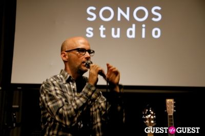moby in Moby Listening Party @ Sonos Studio