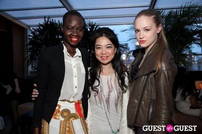 ajang majok in Jia Collection Hamptons Summer Preview Party