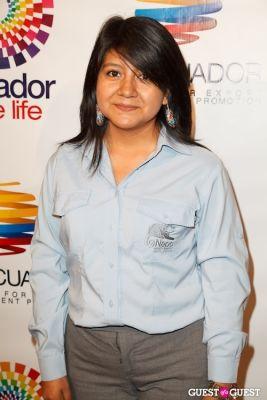 monica pujota in ProEcuador Los Angeles Hosts Business Matchmaking USA-Ecuador 2013