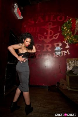 monica ware in Inked Magazine Sailor Jerry Calendar Release Party