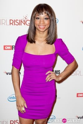 monique coleman in Girl Rising Premiere