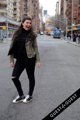 monique kamali in NYU Street Style 2015