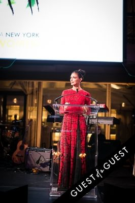 morena baccarin in Brazil Foundation XII Gala Benefit Dinner NY 2014