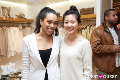 sophia an in Calypso St Barth Holiday Shopping Event With Mathias Kiwanuka