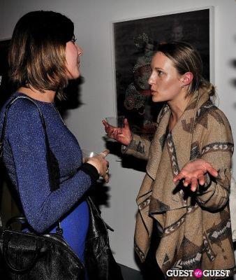 stephanie swanicke in Garrett Pruter - Mixed Signals exhibition opening