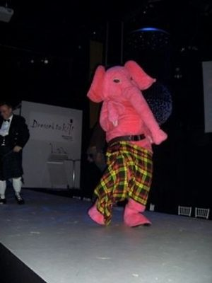 mr. pink-elephant in Dressed to Kilt