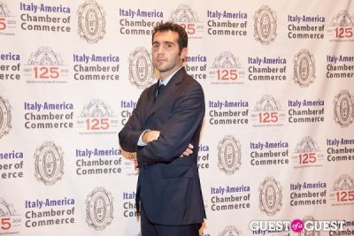 mr. borri in Italy America CC 125th Anniversary Gala