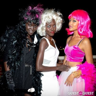 aquol demavior in Mara Hoffman & Pamela Love celebrate Halloween